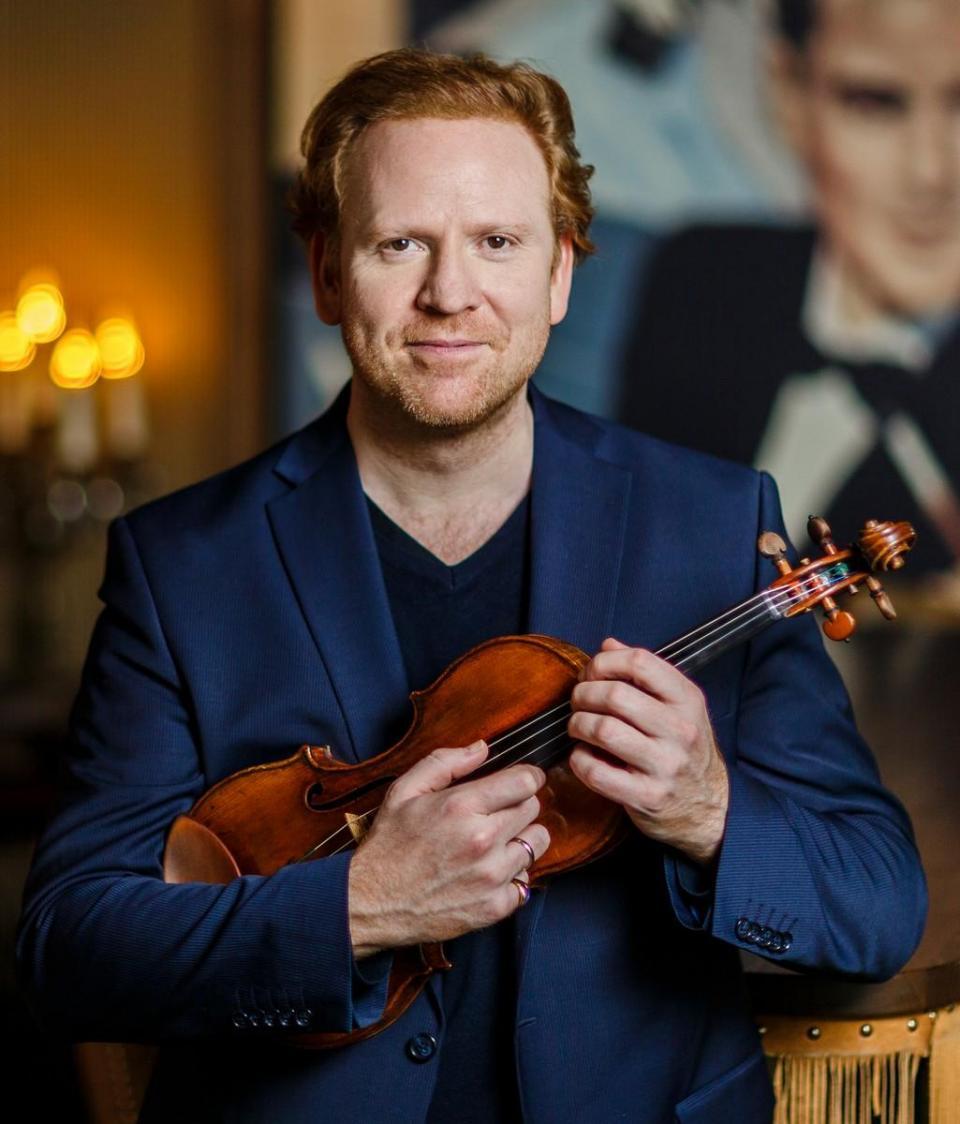 Daniel Hope, violin