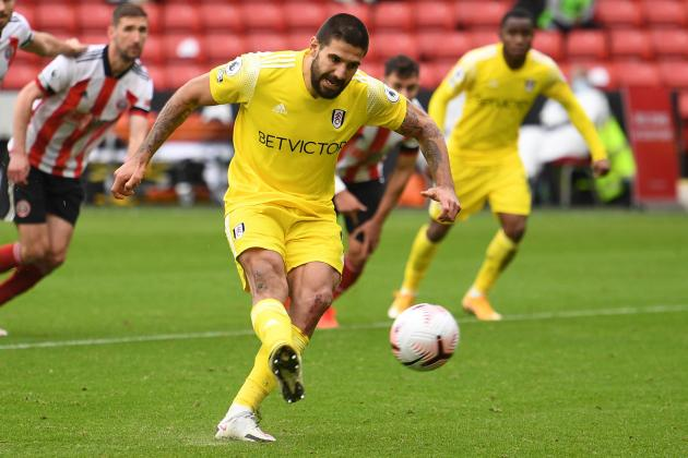 Fulham's Mitrovic endures penalty nightmare as Blades rescue point