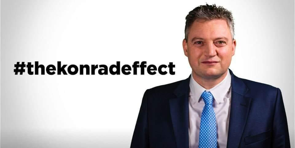 Backers of Konrad Mizzi have been actively promoting him on social media.