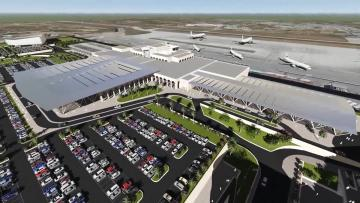 Watch: PA approves airport terminal extension, three new Skyparks blocks