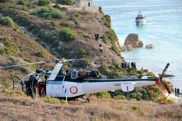 A 52-year-old man from Gudja was critically injured after boulders fell into the sea hitting the boat he was on, in Delimara on August 9. A land, air and sea search was held to ensure no other people were involved. Chris Sant Fournier
