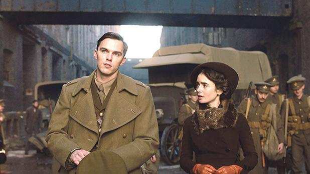 Nicholas Hoult falls for Lily Collins in Tolkien.
