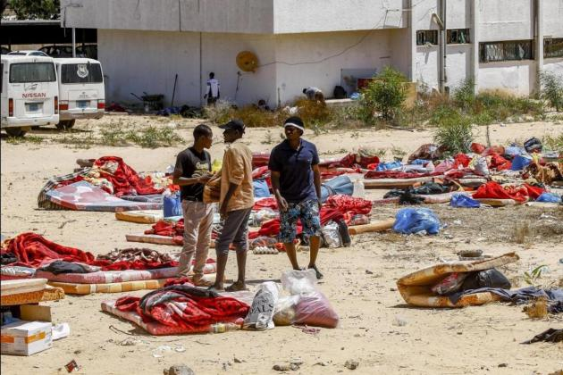 Libyan detention centre attack survivors need protection, UNHRC