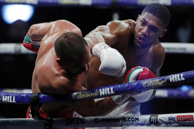 Joshua to defend heavyweight titles against Usyk in London in September