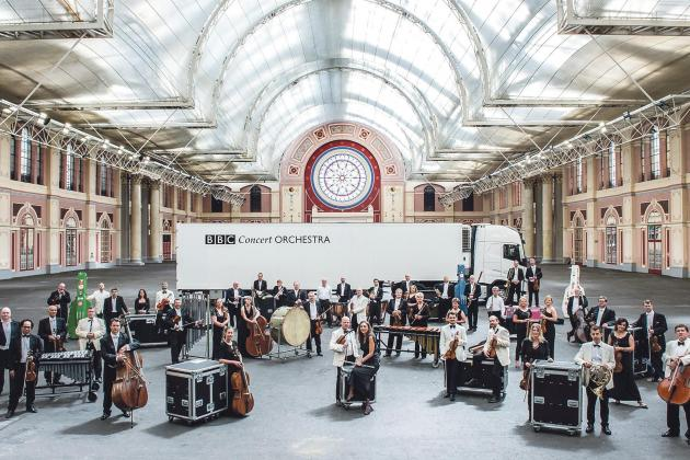 Spectacular performance by BBC Concert Orchestra