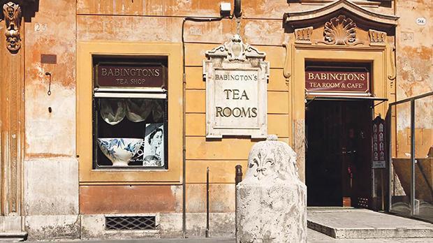 Babington's is certainly the oldest Italian tea room.
