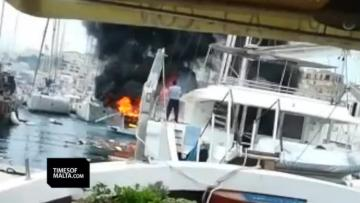 Yacht blaze reactions: 'It was like a fireworks factory exploded'
