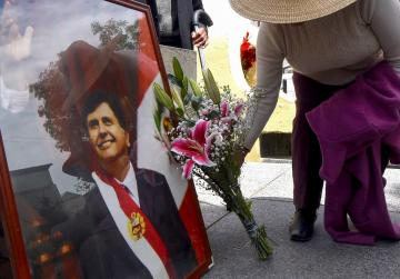 In suicide note, Peru's ex-president denies corruption claims