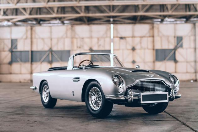 Special edition Aston Martin DB5 Junior celebrates arrival of new Bond film