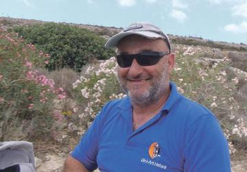 Din l-Art Ħelwa volunteer and Comino Tower warden Joseph Attard.
