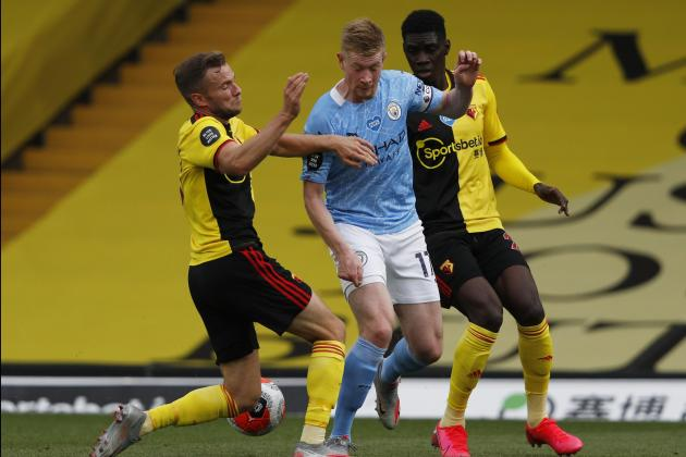 Watford 'crazy low' on confidence after latest Man. City thrashing