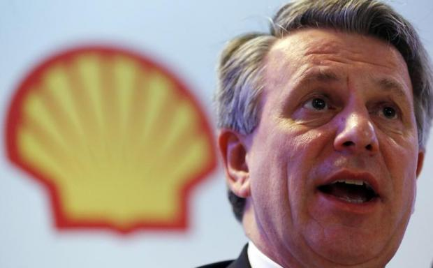 Ben van Beurden, chief executive officer of Royal Dutch Shell. Photo: Reuters