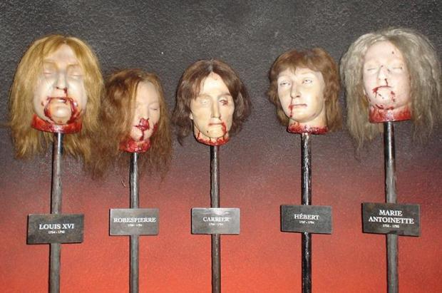 In revolutionary France, Marie Tussaud had to be inventive to ensure survival.