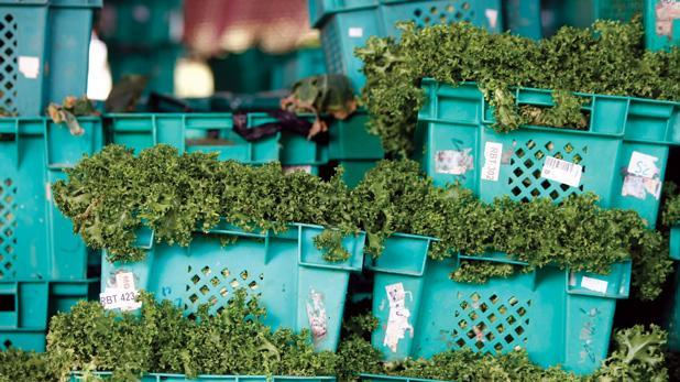 Vendors whose produce registered illegal levels of pesticide have been banned from the market, authorities said.