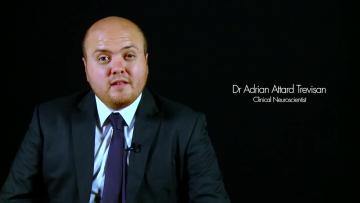 Autism headband inventor paraded fake PhD  | Adrian Attard Previsan presented himself as a doctor in a 2012 promotional video.