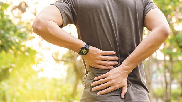 The functional restrictions that back pain often presents are numerous and particular to each and every individual. Photo: Shutterstock.com
