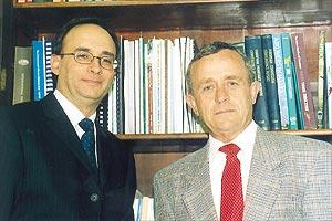 Ray Bugeja (left) and Victor Aquilina