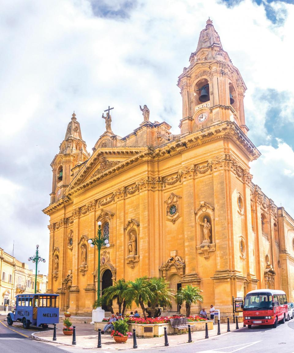 Old Naxxar risks being overshadowed with the invasion of massive construction projects around the Naxxar Trade Fair Grounds. Photo: Shutterstock.com