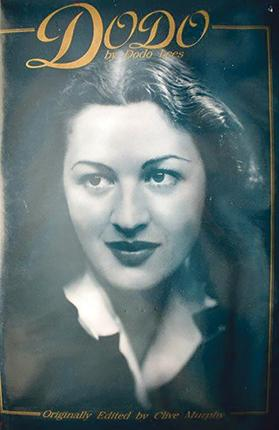 Dodo Lees, in charge of tourism in Malta in the 1950s. Cover of her autobiography.