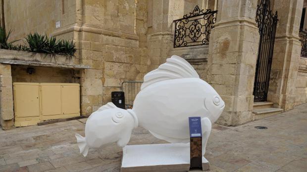 'Il-ħuta ż-żgħira qatt ma kielet il-kbira'. Photo: Facebook/Greta Ellul Xuereb