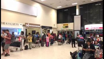 Sri Lanka Easter attack toll hits 290 | There were long queues at Colombo airport as tourists tried to leave the island.