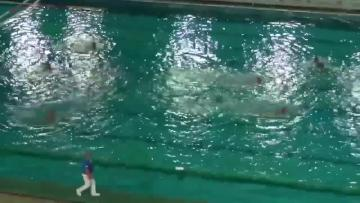 Watch: Premier Division waterpolo clubs contest Obradovic suspension | Footage showing San Ġiljan's Paulo Obradovic throwing his cap towards the match referee.