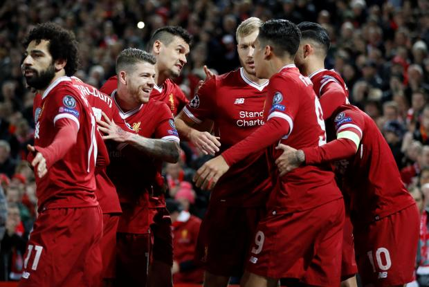 Liverpool ran riot against Spartak Moscow, at Anfield.