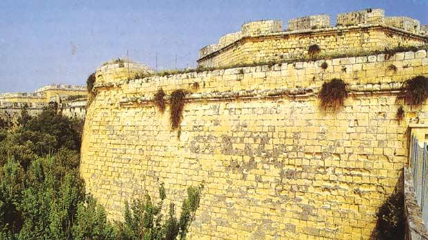 The Public Domain Bill offers protection to Malta's unique lines of fortifications such as these landfront fortifications of Vittoriosa.