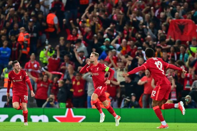 Liverpool spoil Milan's Champions League return in five-goal thriller