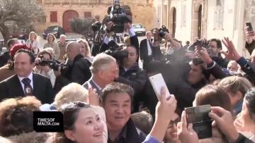 Final day for Royal Family in Malta