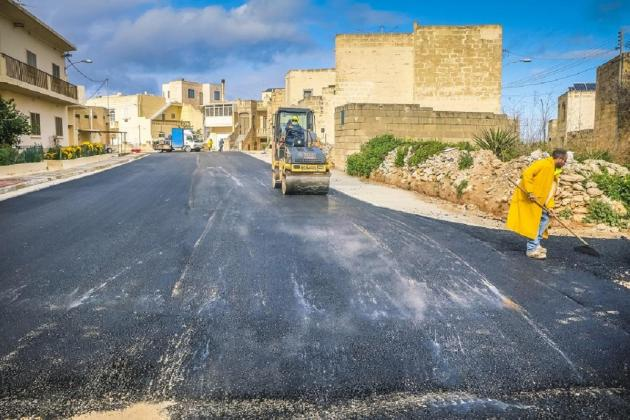 Two Nadur streets rebuilt in €600,000 project