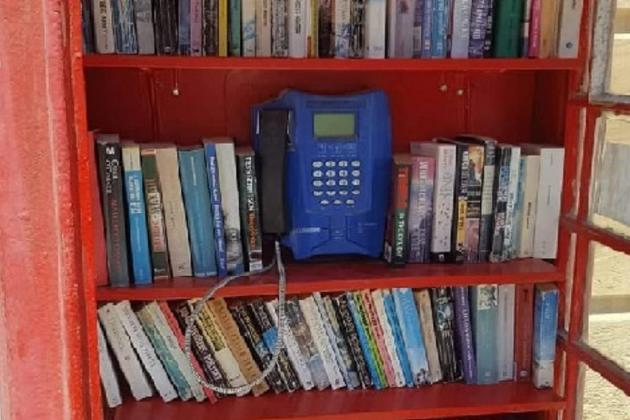 Books stolen from unique phone box library, but replaced by donations in no time