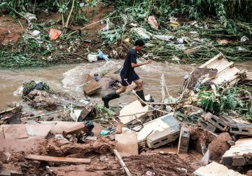 51 killed, 1,000 people displaced by floods in S.Africa