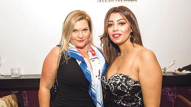 Anna Cristina Zlociak and Imane Aquilina.