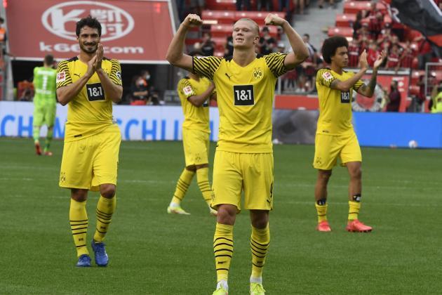 Haaland-inspired Dortmund braced for 'emotional' test at Besiktas