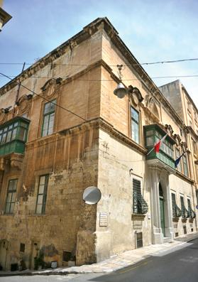 The building in Old Mint Street, Valletta. Photo: Jason Borg