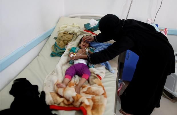 Image result for news for cholera in Yemen, photos