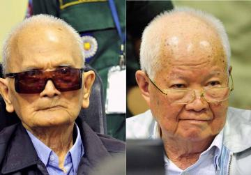 Former top Khmer Rouge officials guilty of genocide