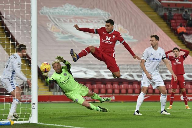 Under-strength Liverpool still too strong for Leicester