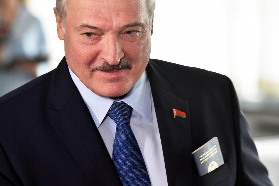 Belarus' President Alexander Lukashenko.