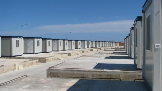 Living conditions inside detention and open centres have been improving constantly over the past years. These new pre-fabricated homes were recently installed at the Ħal Far Open Centre, replacing tents.