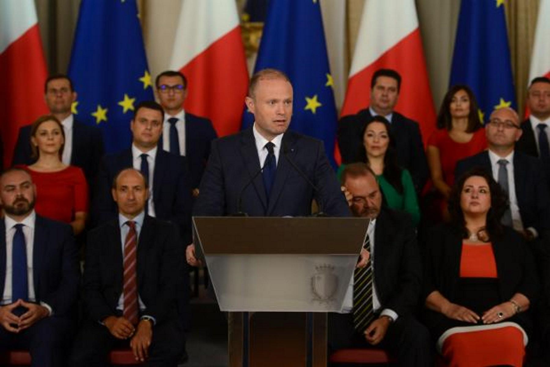 An emotional Prime Minister Joseph Muscat addressed the media the day the summary of the inquiry report was published.