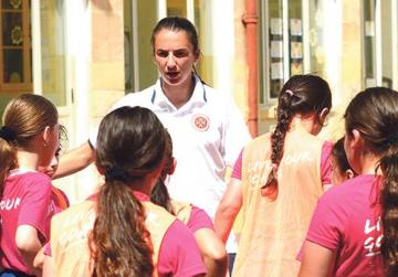 185 girls take part in after-school sessions