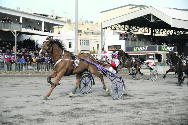 Rodney Gatt leads Truscott Du Guepre to victory on Sunday.