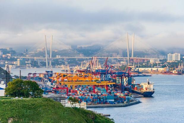 The port at Vladivostock. Photo: Shutterstock