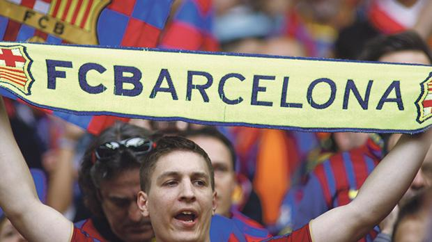 During the Franco era, becoming a fan of FC Barcelona was in itself an act of political defiance. Photo: Mitch Gunn/Shutterstock.com