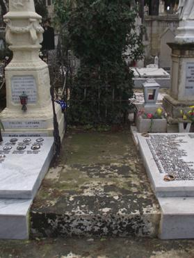 Mottled with lichen and neglected, Mitrovich's grave lies bare and unnamed. The tomb of a patriot who fought to give the Maltese a voice, lies abandoned at the Addolorata Cemetery.