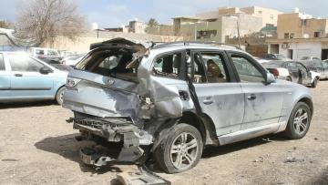 Roads deadlier than guns in Libya