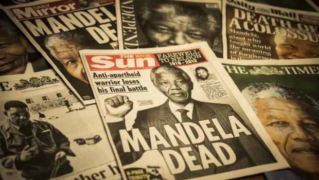 Nelson Mandela died in 2013, but three years earlier, people began 'remembering' that he was already dead. Photo: Shutterstock