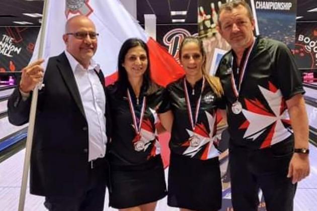 Sue Abela, Cynthia Frendo Duca take silver at Mediterranean Championships
